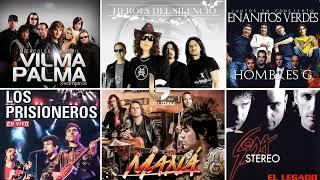 Mana, Soda Stereo, Enanitos verdes, Prisioneros, Hombres G EXITOS Clasicos Del Rock En Español