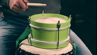 Обзор детского маршевого барабана Flight Percussion online video cutter com