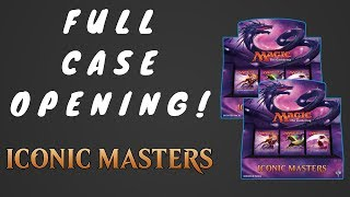full case of mtg iconic masters opened foil mana drain?
