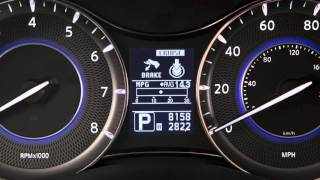 2016 Infiniti QX80 -  Vehicle Information Display