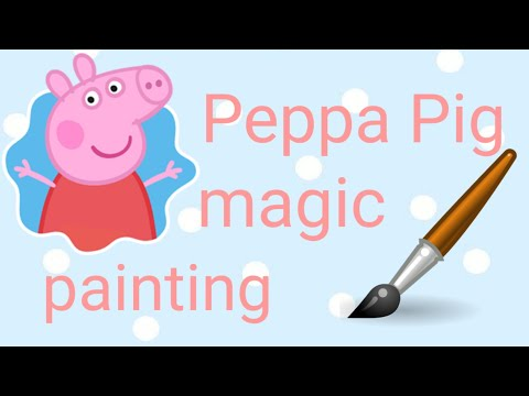 DDLG ABDL - Peppa Pig Magic Painting Book