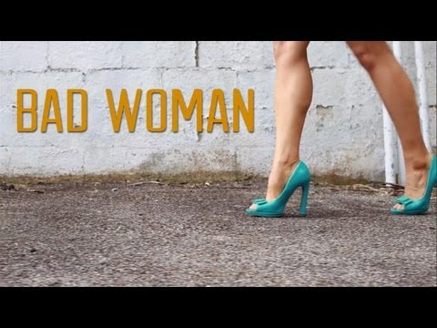 Jeffrey James: Bad Woman (LYRIC VIDEO)