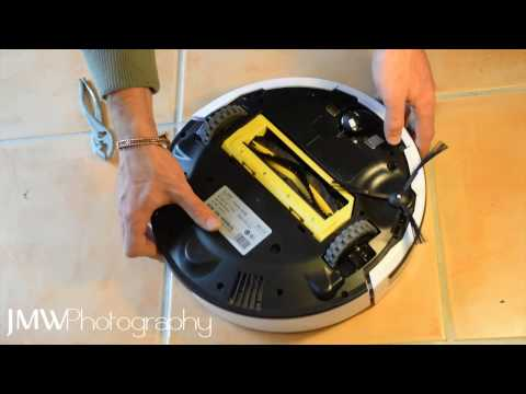 How to fix: iLife V7 / V7s Robot Vacuum Cleaner - Easy Tutorial