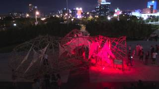 Pulse Pavilion Led Lighting Show