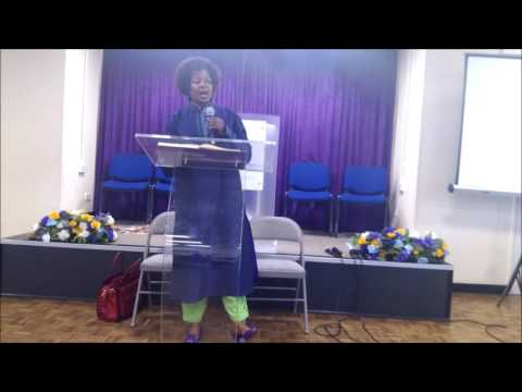 Mrs.Kibirige Ruth at North London SDA, Evening of 15.10.2016