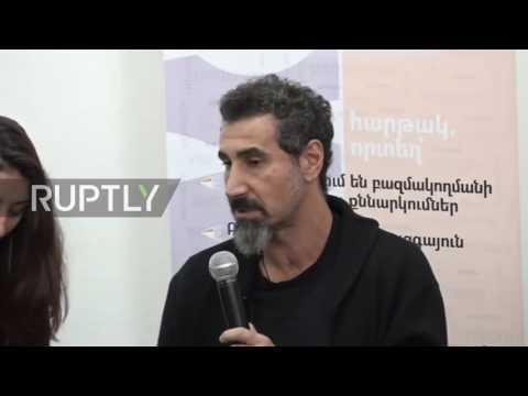 Armenia: System of a Down band member joins observer group for Armenian elections