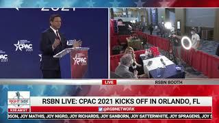 FL Governor Ron DeSantis Full Speech at CPAC 2021
