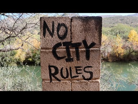 Tour of the Verde Hot Springs, AZ - Once a Swanky Jazz Resort in the 1920s