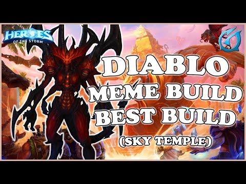 Grubby | Heroes of the Storm - Diablo - Meme Build Best Build - QM - Sky Temple