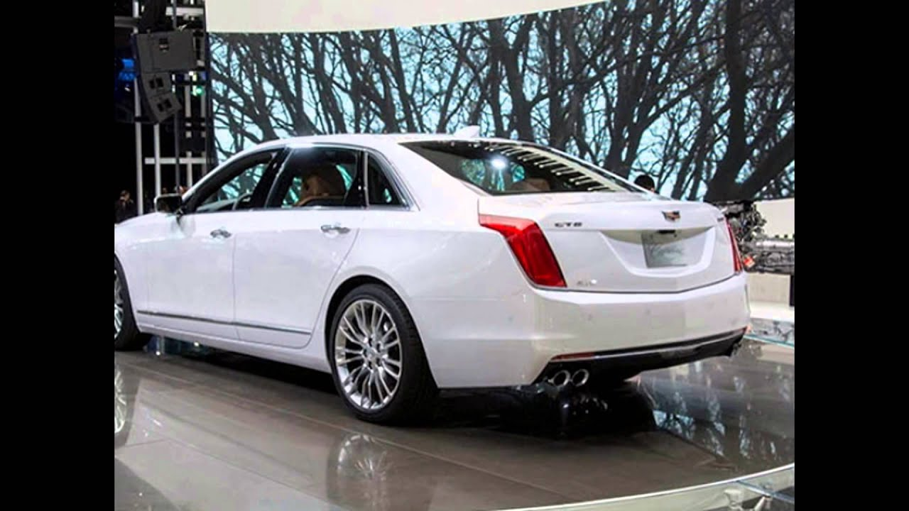 2017 2016 Cadillac Ct6 New Luxury Car Reviews Release Date