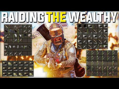 JACKPOT RAIDING The WEALTHIEST Clan BASE! (Rust Raiding, Heli, Rust Oil Rig) - Rust Gameplay | Ep 1 thumbnail