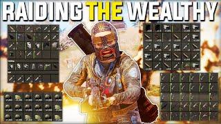JACKPOT RAIDING The WEALTHIEST Clan BASE! (Rust Raiding, Heli, Rust Oil Rig) - Rust Gameplay | Ep 1