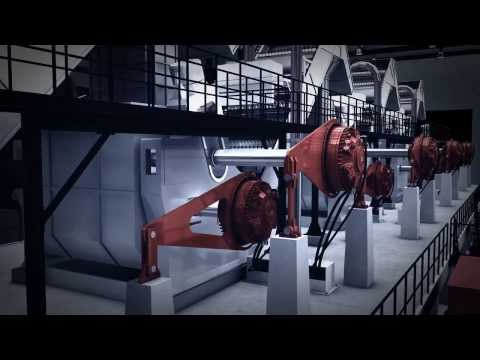 Hägglunds CBM - The most powerful direct drive in the world