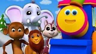 боб поезд | собирается в зоопарк | животные зоопарка для детей | Going To Zoo | Bob The Train Russia