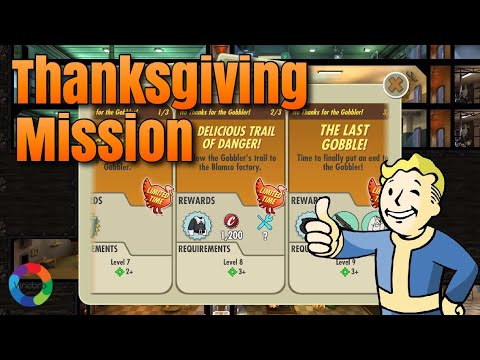 Fallout Shelter - No Thanks For The Gobbler (Thanksgiving Missions Gameplay)