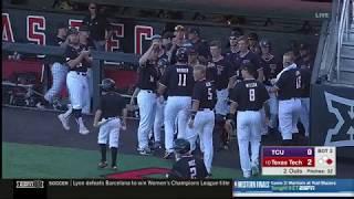 Texas Tech Baseball vs. TCU: Highlights (Big 12 Champs) | 2019