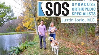 Neck and Back Surgeon | SOS Dr. Justin Iorio  |Syracuse Orthopedic Specialists Physician Spotlight