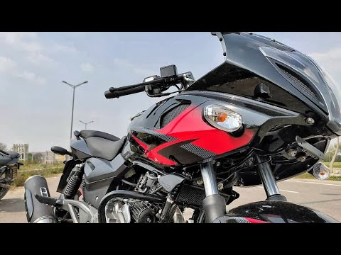 2020 Bajaj Pulsar 220F Bs6 Full Review || 4 New Changes || Exhaust Note || Price ??