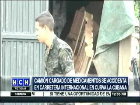 Vehículo de las Fuerzas Armadas de Honduras volcó en Santa Rosa de Copán