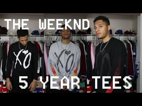 The Weeknd XO 5 Year Tee Reviews - Trilogy (House Of Balloons, Thursday, & Echoes Of Silence)