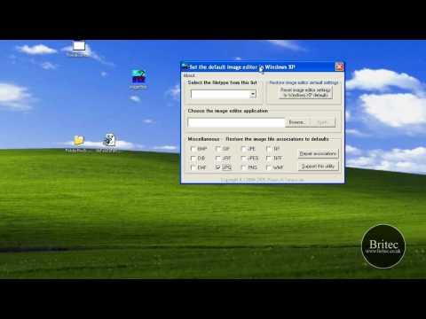 Easy File Associations Repair For Windows XP & Vista By Britec