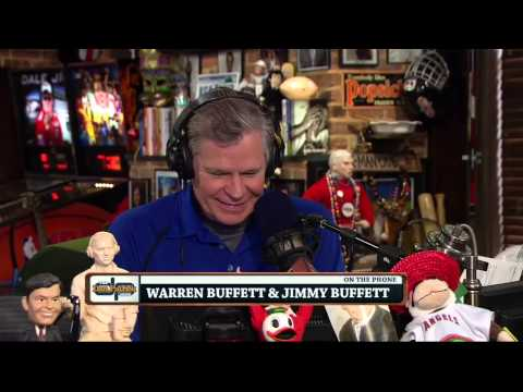 Warren and Jimmy Buffett on the Dan Patrick Show (Full Interview) 1/22/14