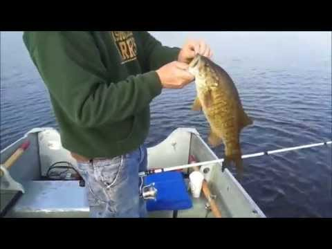 Quabbin Reservoir Smallmouth Fishing 2015