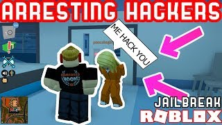 GIVING L'S TO STUPID NO CLIP HACKERS! - Roblox Jailbreak Hacker Hunting