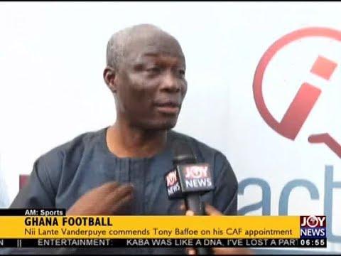 Ghana Football - AM Sports on JoyNews (22-11-17)