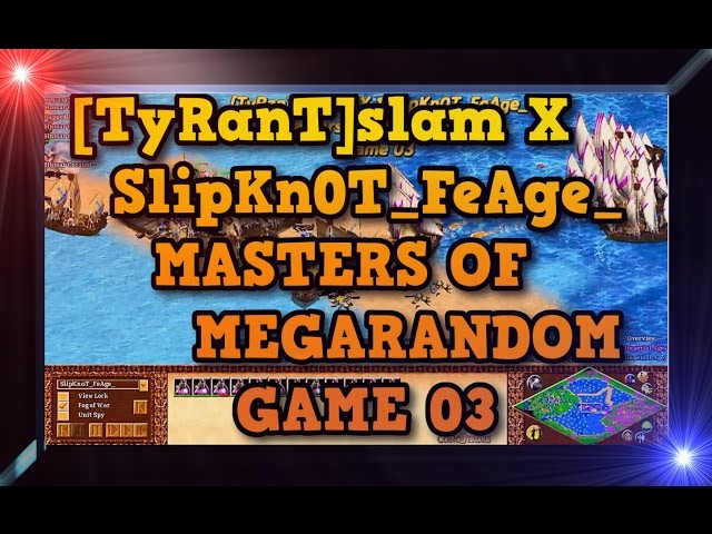 Age of Empires 2 HD TyRanTslam X SlipKn0T FeAge Game 03 MoMR Round2 AoE2HD Gameplay PT BR