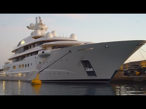"""SUPER MEGA YACHT """"DILBAR"""" ...110 Meters Biggest/Largest Most Expensive Boat In The World Travel Trip"""
