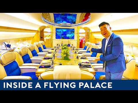 Inside the $200 million Airbus Flying Palace