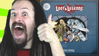 Loot & Legends - Mobile RPG Card Game iOS App - (What the App?!)