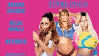 Gambar cover Ariana Grande, Nicki Minaj & Beyonce - Halo Side (Concept Mashup)