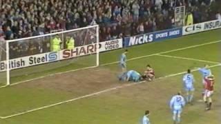 91/92  Manchester Utd V Manchester City, Apr 7th 1992