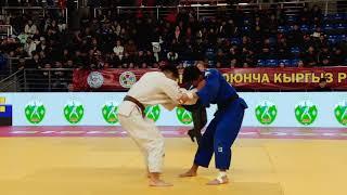 Спорт. Дзюдо. Чемпионат Кыргызстана-2020. День 1 Татами А Часть 5