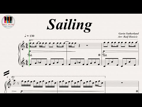 Sailing - Rod Stewart, Piano