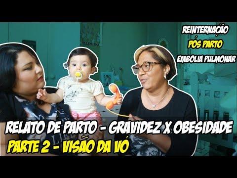 Relato de Parto gestante obesa - Parte 2 (feat. Mãe)