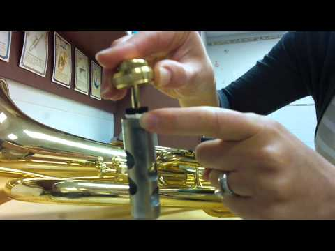 How to oil your Euphonium valves