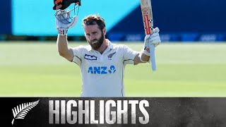 Williamson's 24th Test 100 Headlines Day 2 | | 2nd Test Day 2 HIGHLIGHTS | BLACKCAPS v Pakistan