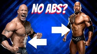 Why Dwayne Johnson Doesn't Have Abs