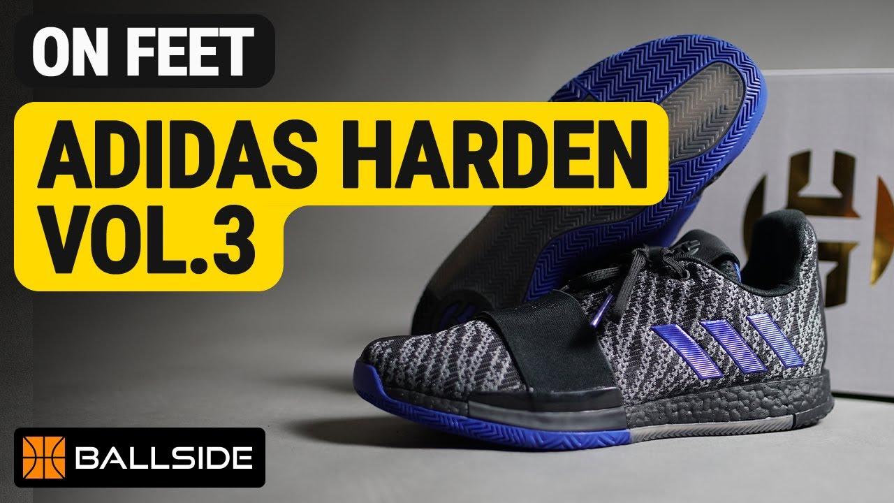 adidas Harden Vol 3 (CORE BLACK