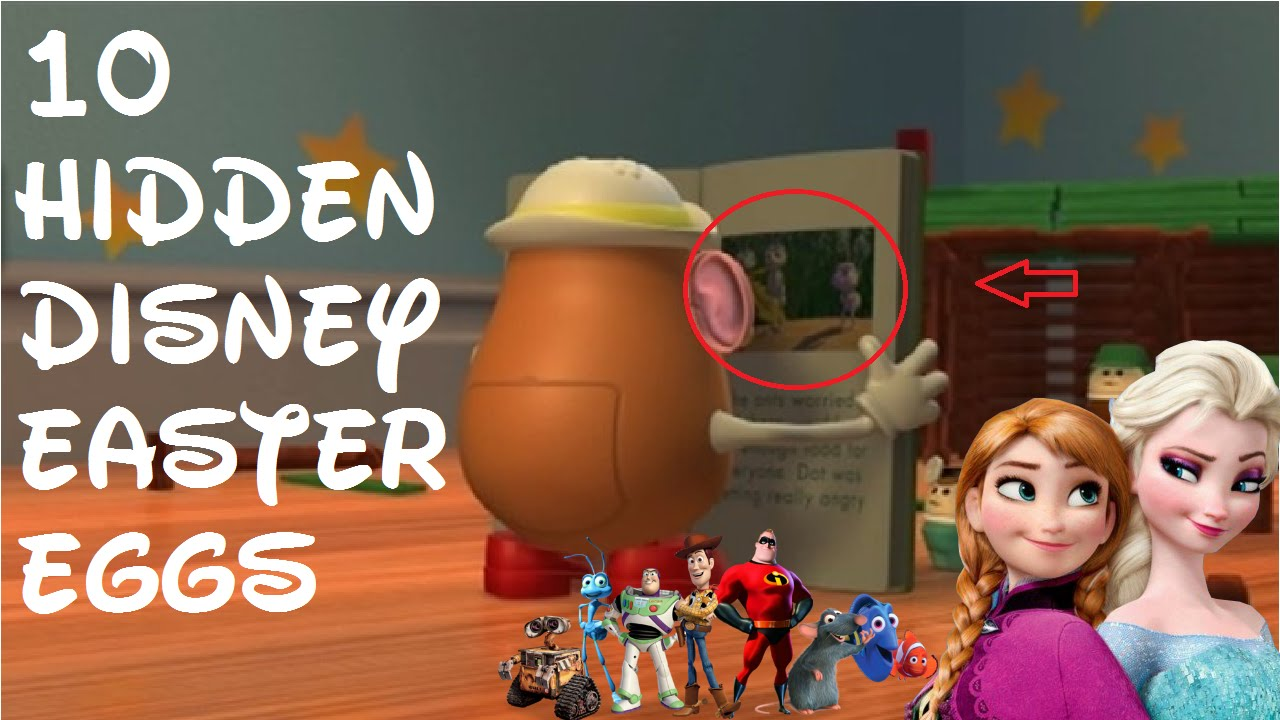 10 hidden disney movie easter eggs and secrets youtube