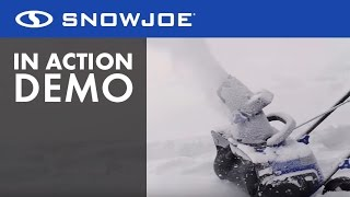 iON15SB-LT - Snow Joe iON 40-Volt Cordless 15-Inch Single Stage Brushless Snow Blower - Live Demo