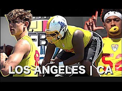 🔥🔥 Football University Camp | Los Angeles (CA)  | Train Like An All-American | Highlight Mix 2018
