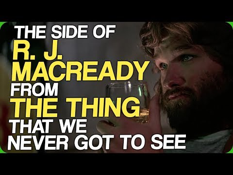 The Side of R. J. MacReady From The Thing That We Never Got To See