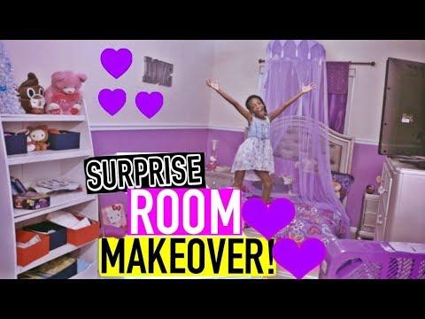 YAYA'S SURPRISE BEDROOM MAKEOVER 2017