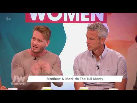 Matthew Wolfenden and Mark Foster Talk About Checking for Cancer  Loose Women