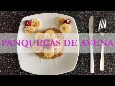 PANQUECAS DE AVENA - DESAYUNO FIT - RECETA DE SASCHA FITNESS