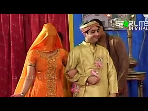 Best Of Zafri Khan and Shahid Khan New Pakistani Stage Drama Full Comedy Funny Clip